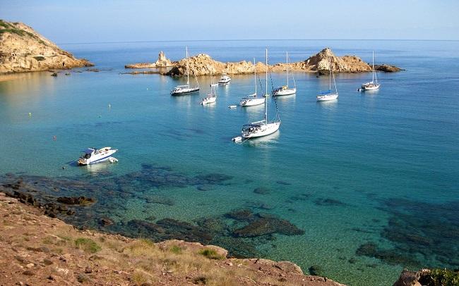 BUCEAR EN ESPAÑA-Menorca, Baleares