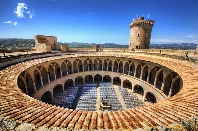 CASTILLOS DE ESPAÑA-Castell de Bellver en Palma