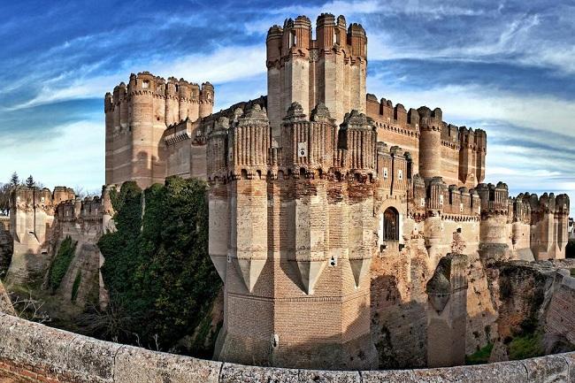 CASTILLOS DE ESPAÑA- Castillo de Coca