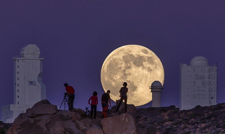 EN COCHE POR TENERIFE-Observatorio del Teide
