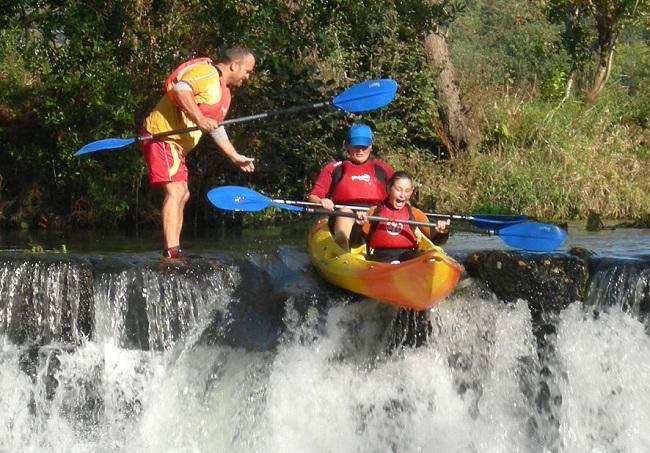 KAYAK EN ESPAÑA-Río Ulla