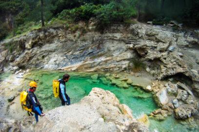 actividades aventura barranco andalucia rio verde 2