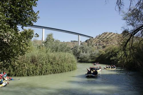 actividades aventura rafting andalucia tramo largo adultos 2