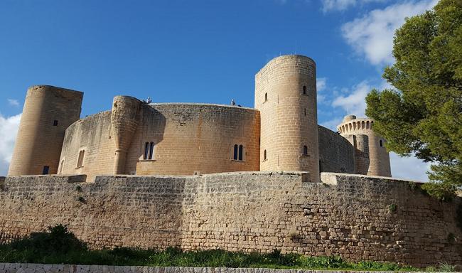 turismo por Islas Baleares-Castell de Bellver