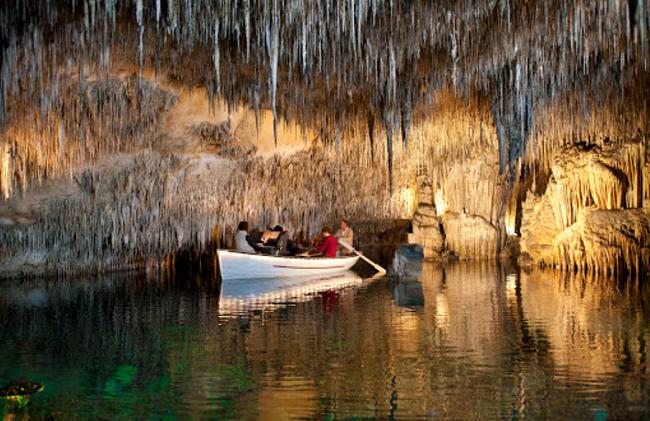 turismo por Islas Baleares-Coves del Drach y de Artà