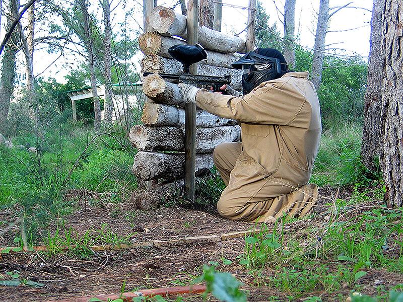 wood land paintball en tarragona 1