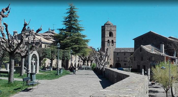 PUEBLOS MEDIEVALES DE ESPAÑA-Aínsa, Huesca