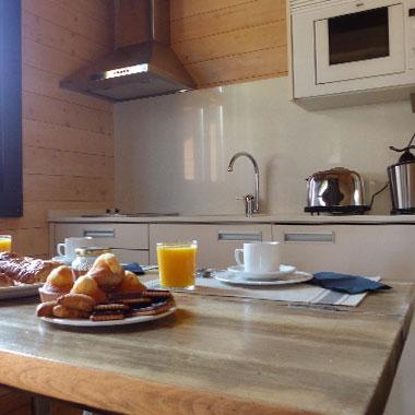 Piedrafitamountain apartamento cocina equipada