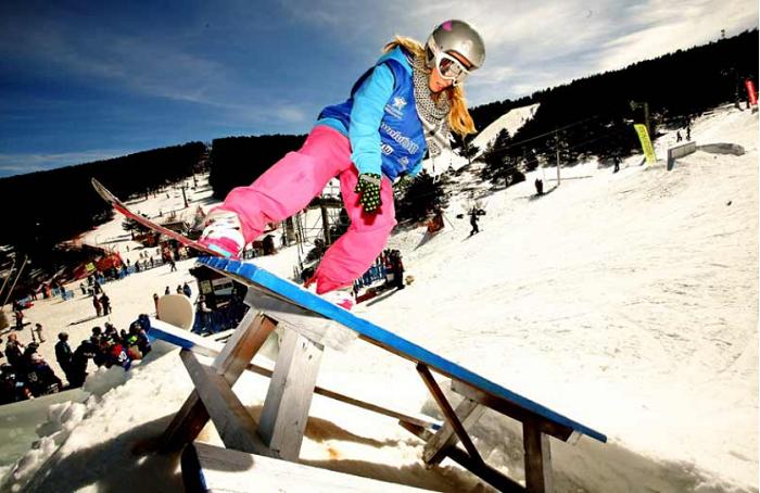 SNOWBOARD EN ESPAÑA-Astun