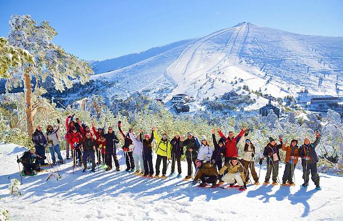 SNOWBOARD EN ESPAÑA-Navacerrada