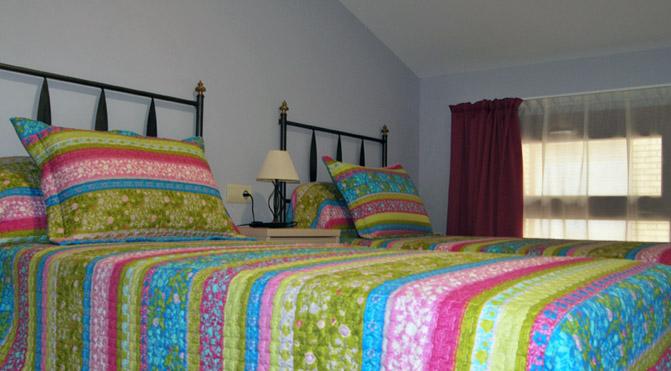 apartamento piedras habitacion dos camas