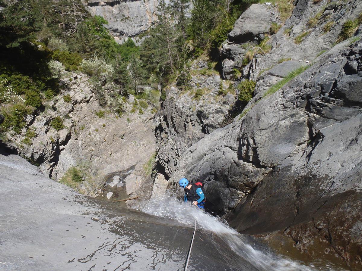 Barranco Cebollar y Salto del Carpin Pirineo
