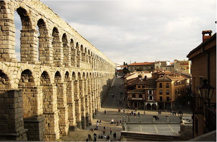 MONUMENTOS ROMANOS EN ESPAÑA-Acueducto de Segovia