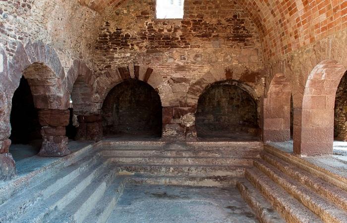 MONUMENTOS ROMANOS EN ESPAÑA-Termas en Caldes de Montbuí