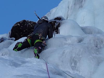 curso escalada en hielo mad