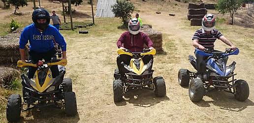 Circuito de quads en AlmoroxBall Toledo