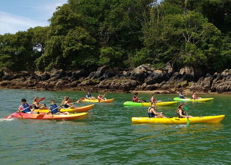 descensos en canoa stand up paddle urdaibai 1