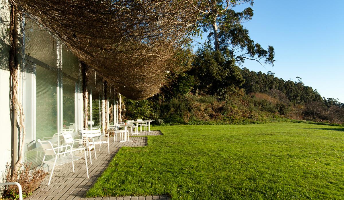 hotel a miranda galicia ortegal jardin 2 700