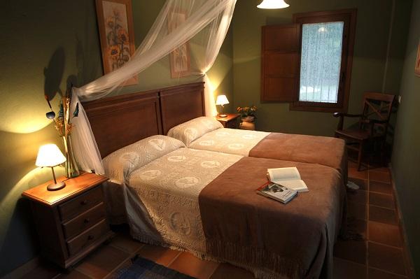 Finca La Media Legua Dormitorio 2 camas