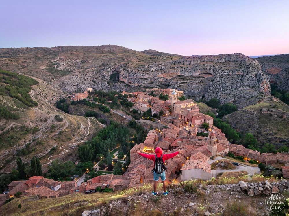 Imagen desde las murallas de Albarracín