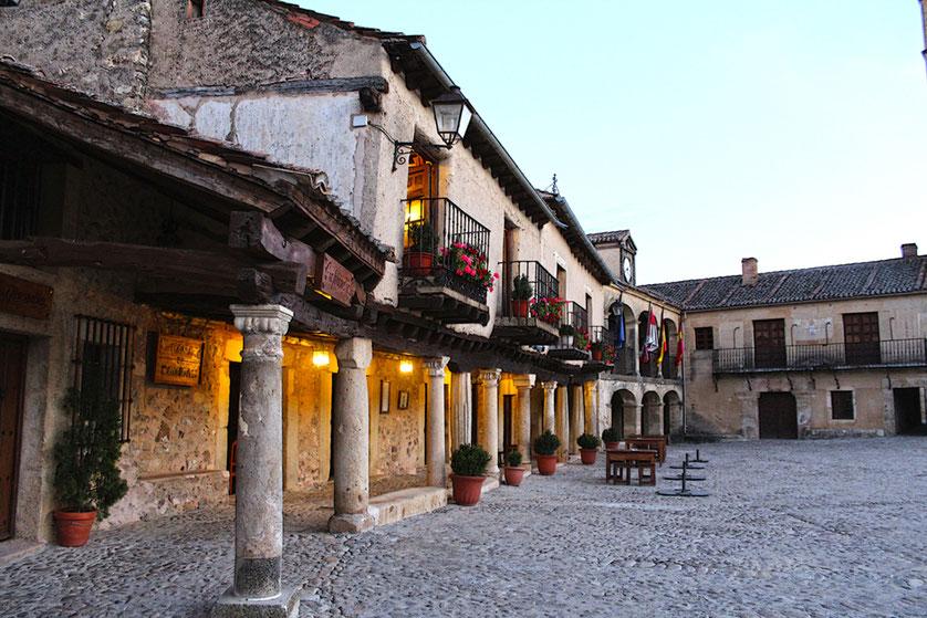 villa medieval de Pedraza