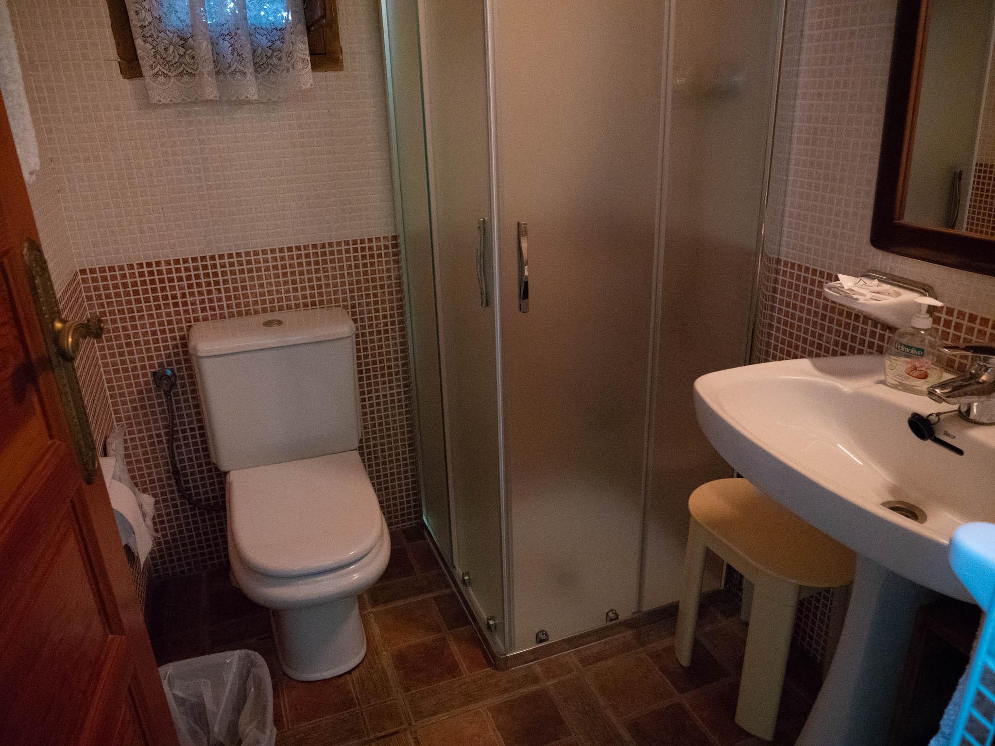 baño la cabaña 2 5