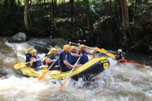 mejores ríos para practicar rafting