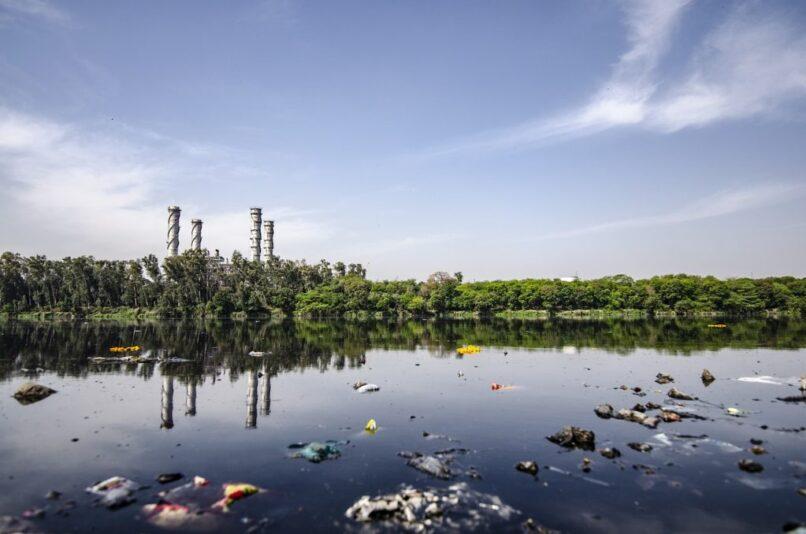 contamination en rios