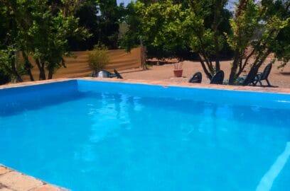 piscina aigua natural