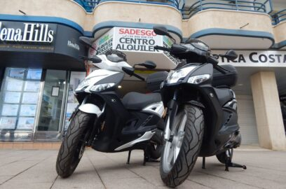 rent scooter calpe